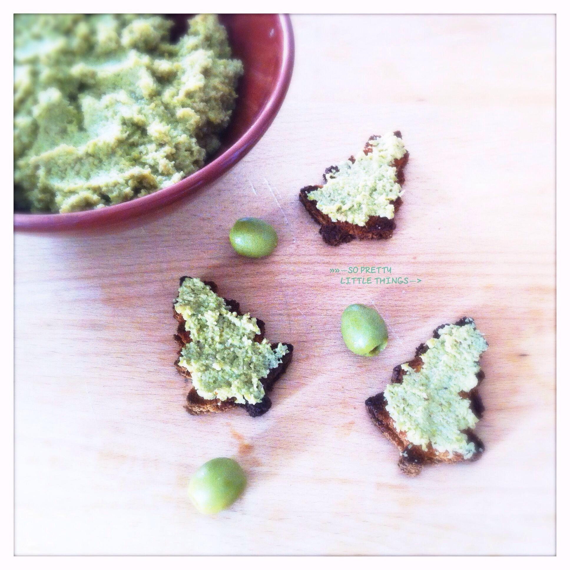 Tapenade d'olives vertes maison