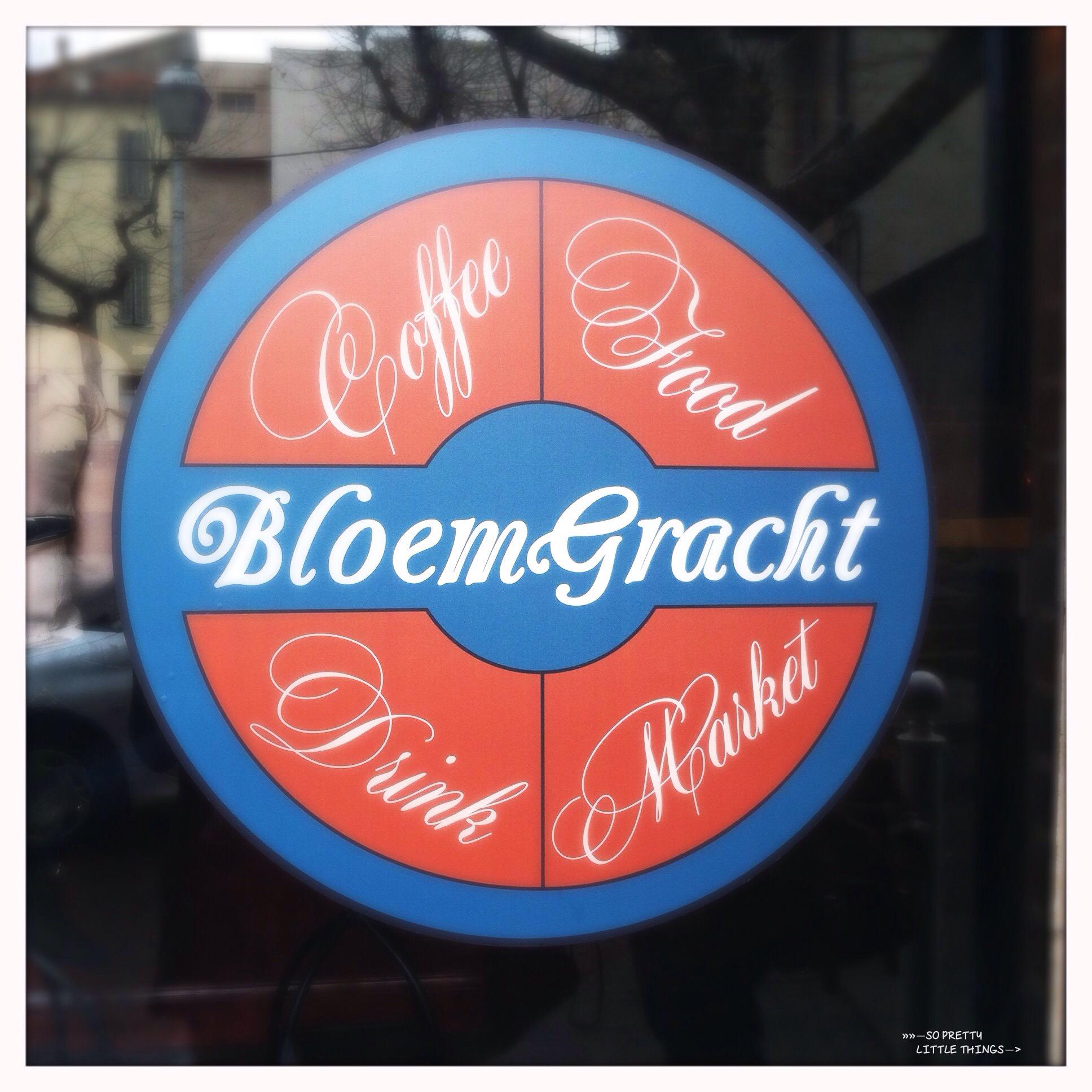 Gros plan sur le Coffee Shop BLOEMGRACHT