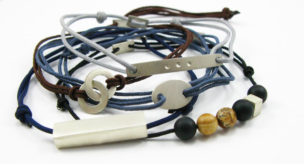 accumulation bracelets homme